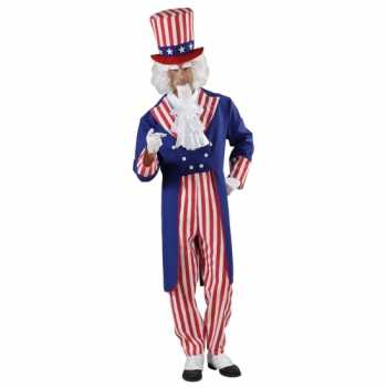 Foute uncle sam party kleding voor heren
