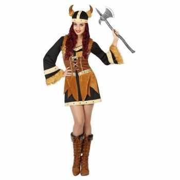 Foute viking party kleding/jurk voor dames