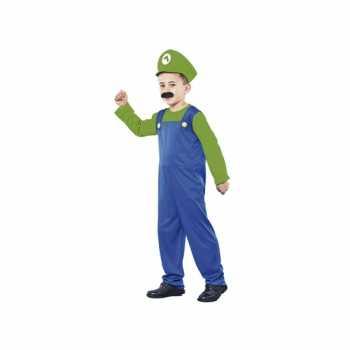 Foute voordelig groen loodgieter party kleding voor jongens