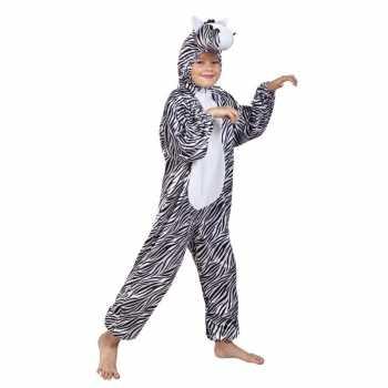 Foute zebra party kleding voor kinderen