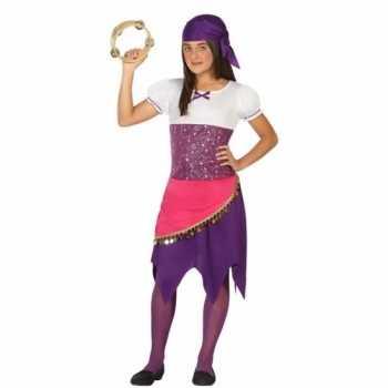 Foute zigeunerin esmeralda party kleding voor meisjes
