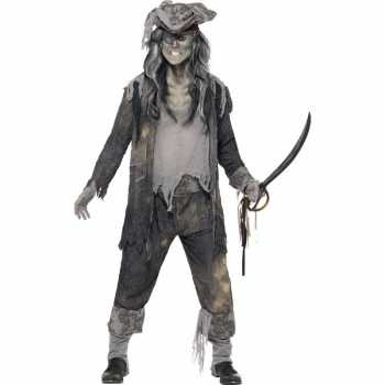 Foute zombie piraten party kleding voor heren