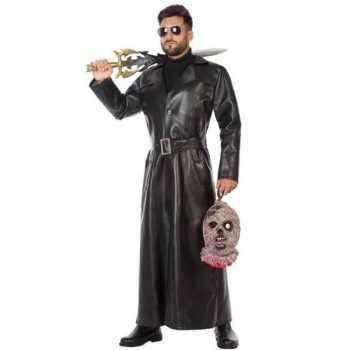 Foute zwart vampierjager party kleding voor heren