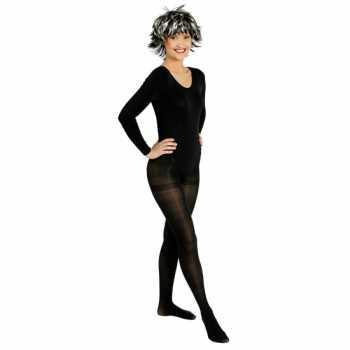 Foute zwarte ballet party kleding