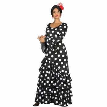 Foute zwarte spaanse party kleding jurk
