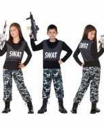 Foute politie swat pak party kleding voor kinderen