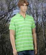 Foute poloshirt milano lime party
