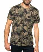 Foute soldaten leger party kleding camouflage shirt heren